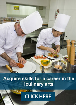 Acquire skills for a career in the culinary arts!